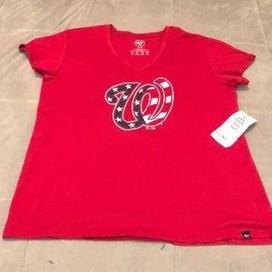 47 Brand Washington Nationals shirt size XXL